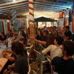 Der karibische Abend in Lambis Bar