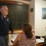 Astro-Navi-Unterricht bei Detlef