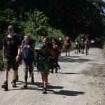 Unterwegs ins Camp von Miguel