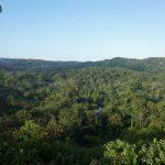 Eine wunderbare Aussicht vom Camp aus