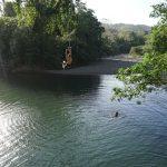 Mit der Affenschaukel ins Wasser