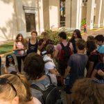 Die Tagesprojektleitung Joe und Josef organisieren den Tag in Panama-City