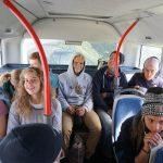 Der Bus vollbesetzt mit KuSis