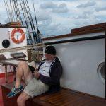 Der Dichter an Bord - Unser Bordarzt Wolfgang