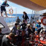 Sea Horse bring uns mit den Fahrrädern sicher an Land