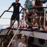 Schiffsübergabe - Alles in den Händen der Schüler