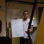 Markus erklärt uns die Methanhydrate