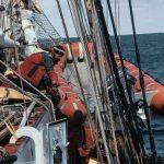 Unser Rescue Boat kann nicht alleine ausgesetzt werden