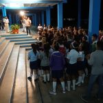 Die Federico Engelsschueler begrüßen uns musikalisch