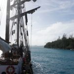 Zielwasser gefragt - Die Hafeneinfahrt