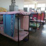 Hier wohnen die Mädchen der Schule