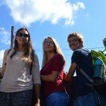 Per Anhalter durch Kuba - Fahrt auf der Ladeflaeche - KG Holguin