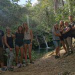 Ziel erreicht Cascada de Bella - KG Sancti Spiritus