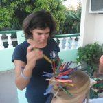 Laura tobt sich kreativ aus - KG Santa Clara