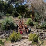 Unsere Kleingruppe im Botanischen Garten - KG Bayamo