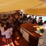 Zum ersten Mal dürfen unsere kubanischen Austauschschüler die Thor besichtigen