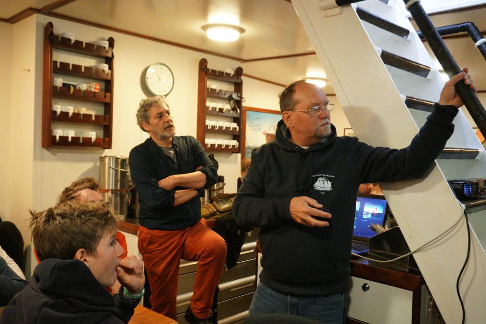 Die Teilnehmer der Tigris Expedition erzählen von ihrer spannenden Geschichte