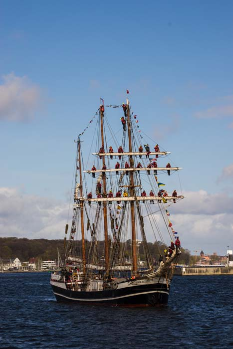 Nach 191 Tagen kommen die KuSis stolz und glücklich wieder nach Kiel