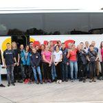 Mittagspause unserer Busfahrt nach Kiel