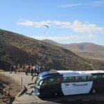Mit dem Bus auf 2000m