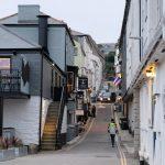 Der erste Blick in die Straßen von Falmouth