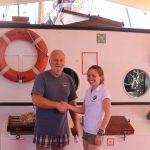 Ende der Schiffsübergabe und Beginn der Riffferien