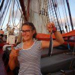 Erster fliegender Fisch an Bord, entdeckt von Marlene E.
