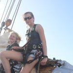 Schiffsübergabe Deckshand Amelie und Copi Wache 2 Jara