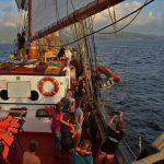 Aussetzen Rescue Boat