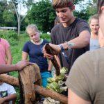 Philipp und die Kunst der Zuckerrohrsaftherstellung