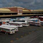 Der Busbahnhof in Panama City