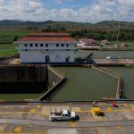 Die alten Schleusen des Panama Kanals
