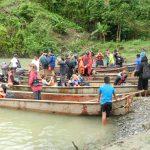 Wie im Dhingi -nur mit Rettungsweste