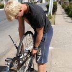 Tobi, unser Fahrradmechaniker