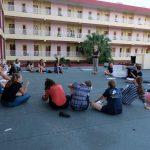 Amelies Referat über Che Guevara auf der Dachterasse in Pinar del Rio
