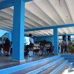 Unsere kleine Begrüßungsfeier in der kubanischen Schule Friedrich Engels