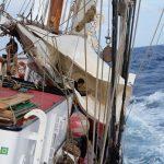 Schoner Reffen (3 Tage vor Bermuda)