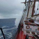 Windige Anfahrt auf Bermuda