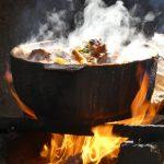 Kochen, nach Art der Bauern