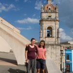 Aussicht von einem Kirchendach in Mantanzas