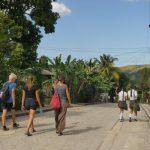 Bekanntschaft mit Schülerinnen aus Bayamo