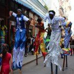 kubanische Straßenkünstler