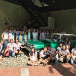 Gruppenfoto mit Aleida im noch nicht eröffneten Gedenkzentrum Che