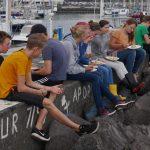 Mittagessen an der Pier