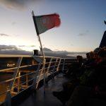 Um 0730 startet die Fähre zu der Insel Pico, wo wir den gleichnamigen Vulkan besteigen werden