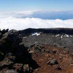Blick auf den 2000 Jahre alten Krater