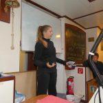Marlenes Vortrag über deutsche Bewerbungen