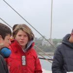 Auslaufen Falmouth unter der Leitung von Maura und ihrem Team