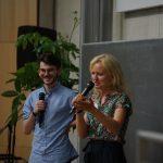 Unsere Moderatoren Luisa und Ben aus KUS 10-11 und KUS 13-14