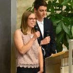 Annika und Michael - Schülervertreter KUS 12-13 und KUS 17-18